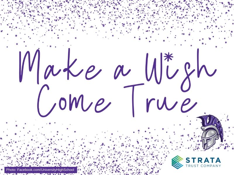 STRATA Trust gives to UHS Make A Wish Come True Program