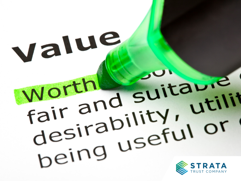 Definition of value in the dictionary